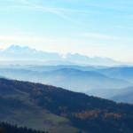 Panorama na Tatry Wysokie